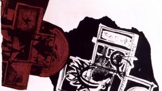 Encuentro de rayuela - litografia